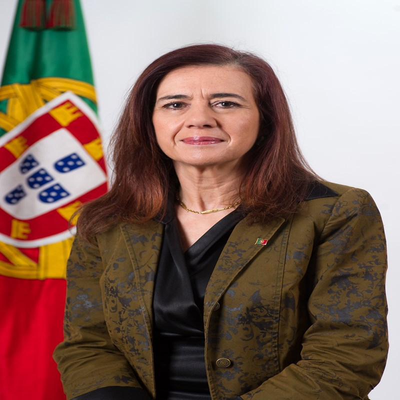 Ministra Anabela Rodrigues